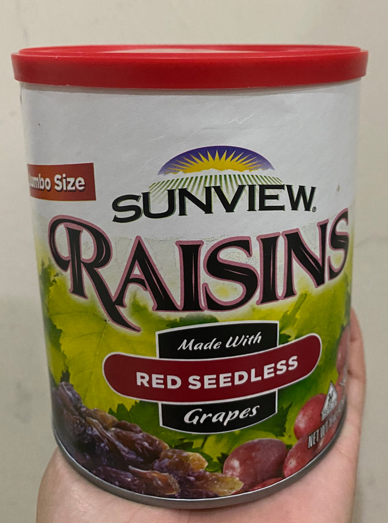 Sunview Jumbo Raisin - 425g (Red Seedless Raisin)