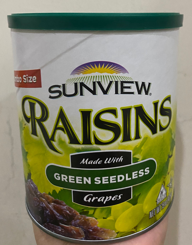 Sunview Raisin - 425g (Green Seedless Raisin)