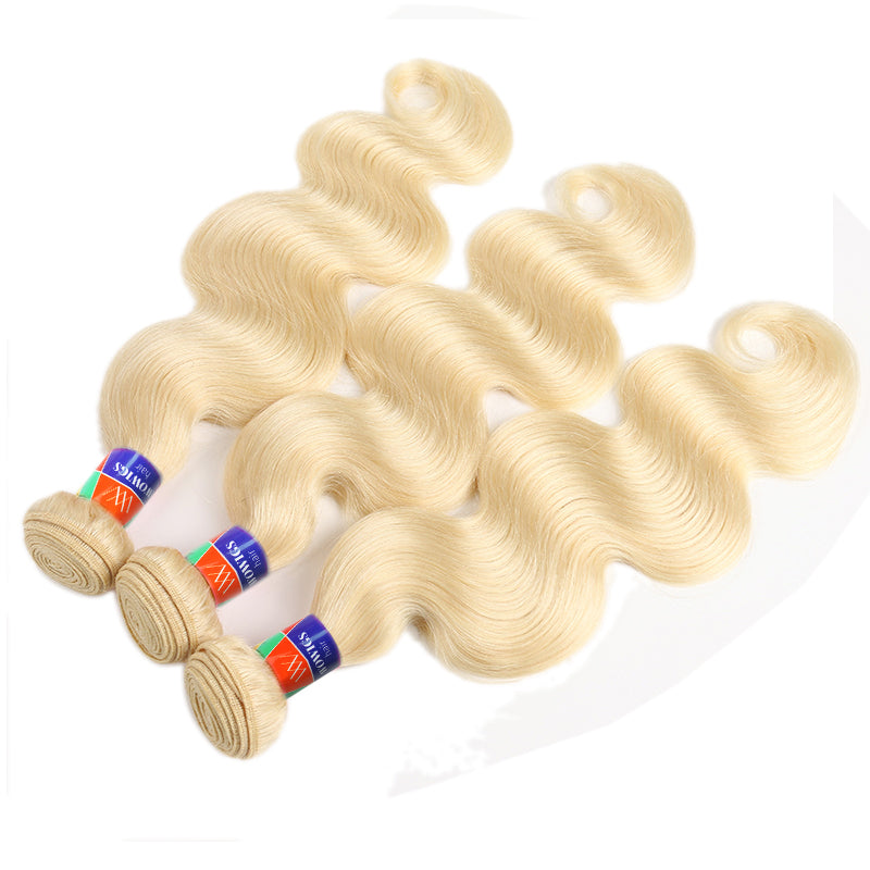 Platinum Blonde 3 Bundle Deals Body Wave