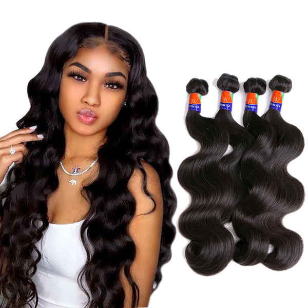 4 Bundle Deals Body Wave 100% Virgin Hair Extensions
