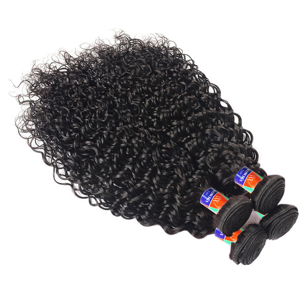 4 Bundle Deals Curly Hair 100% Virgin Hair Extensions