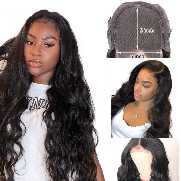 🆕 5x5 HD Lace Closure Wig Body Wave (20-26 inch Only)