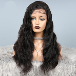 ASHLEE - 360 Frontal Wig Body Wave [Cap Size: Small ] 100% Human Hair Wig