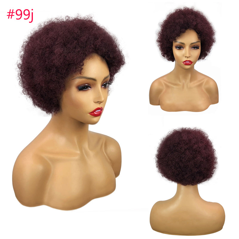 Afro Bob Wig *5 Colors Available*