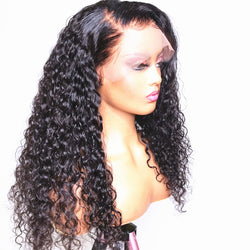 TAYLOR - 360 Frontal Wig Curly Hair [ Cap Size: Small ] 100% Human Hair Wig