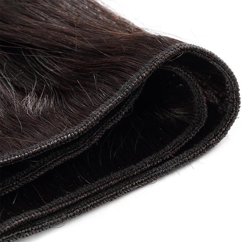 4 Bundle Deals Straight Hair 100% Virgin Hair Extensions Free Shipping