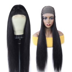 Silked Based Closure Human Hair Wig. Final Price No Code will Applied