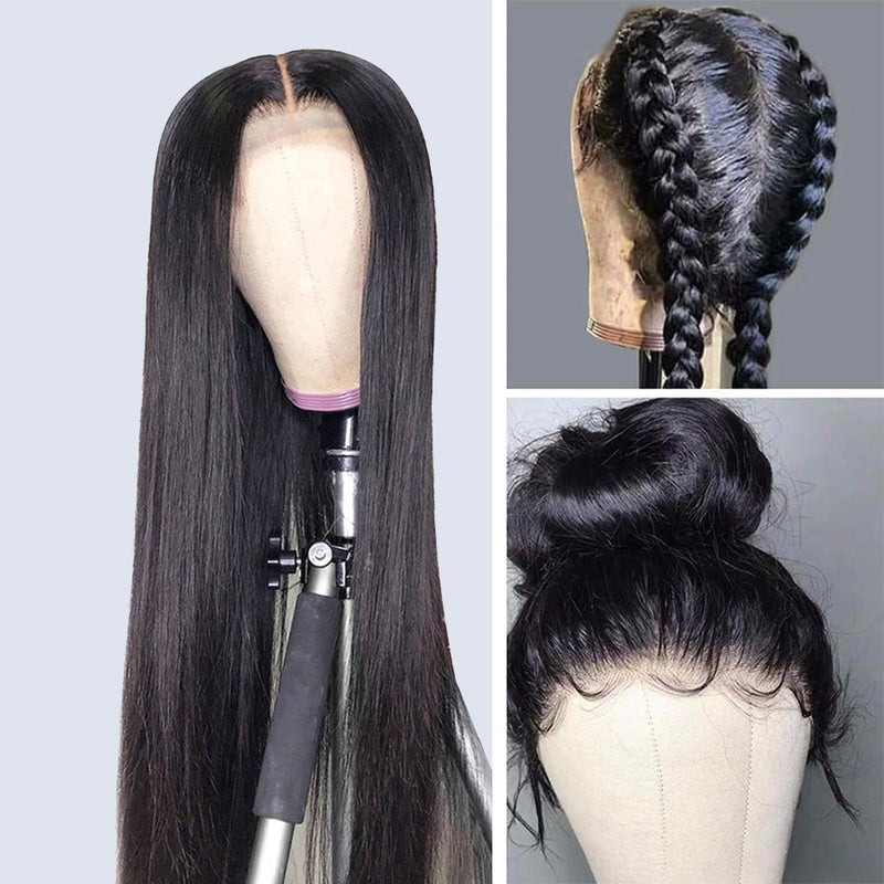 MONIQUE - 360 Frontal Wig Straight Hair [ Cap Size: Small ] 100% Human Hair Wig