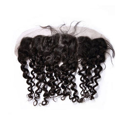 13×4 Lace Frontal Curly Hair 100% Human Hair