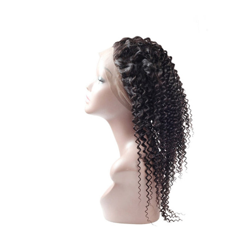 360 Frontal Curly Hair 100% Virgin Hair Extensions