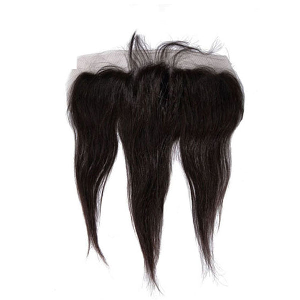 13×4 Lace Frontal Straight Hair 100% Human Hair