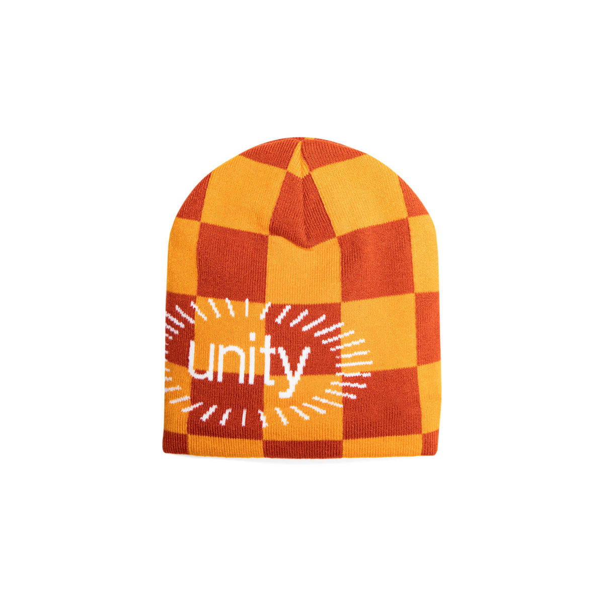 orange toque with text black owned business