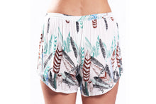 Muat gambar ke penampil Galeri, Bindi Shorts/White Feather
