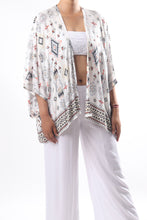 Load image into Gallery viewer, Boho Cape 3/Earth Aztec