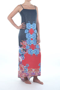 Dragon Lotus Dress/Dragon Black