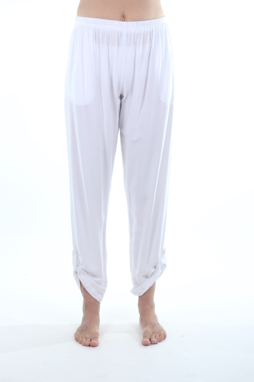Indi Pants/White