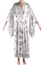 Load image into Gallery viewer, Jap Kimono XLong/Earth Aztec