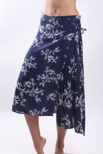 Load image into Gallery viewer, Jap Skirt/Navy Bamboo