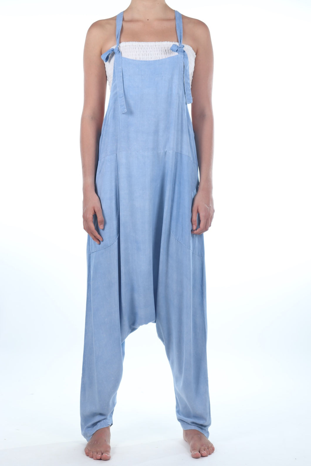 Jay Jumpsuit/Light Blue Stone Wash