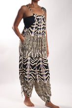 Load image into Gallery viewer, Kayla Jumpsuit/Zebra