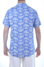 Load image into Gallery viewer, Manu Sh-sl Shirt/Blue Floral