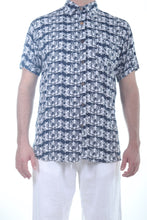 Load image into Gallery viewer, Manu Sh-sl Shirt/Indigo Urchin