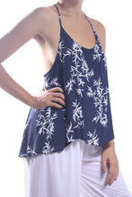 Load image into Gallery viewer, Nessy Top-Short/Navy Bamboo