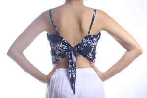 Tia Top/Navy Bamboo