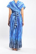 Load image into Gallery viewer, Venus Dress/Blue Feather
