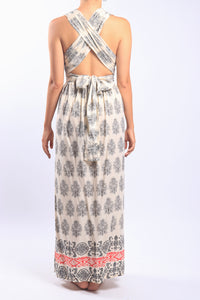 Venus Dress/Cream Paisley