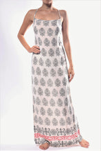 Load image into Gallery viewer, Pinafore Dress/Cream Paisley