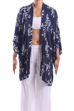 Load image into Gallery viewer, Jap Kimono Short/Navy Bamboo