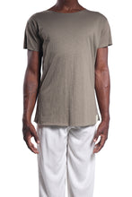 Load image into Gallery viewer, Kima Tee/Cotton Slub Khaki