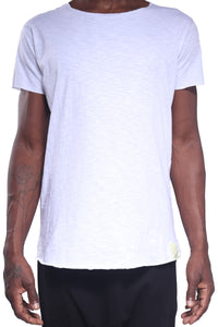 Kima Tee/Cotton Slub White