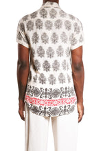 Load image into Gallery viewer, Manu Sh-sl Shirt/Cream Paisley