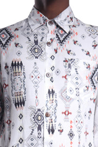 Manu Sh-sl Shirt/Earth Aztec