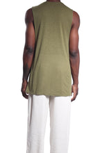 Load image into Gallery viewer, Mens Tank/Linen Khaki