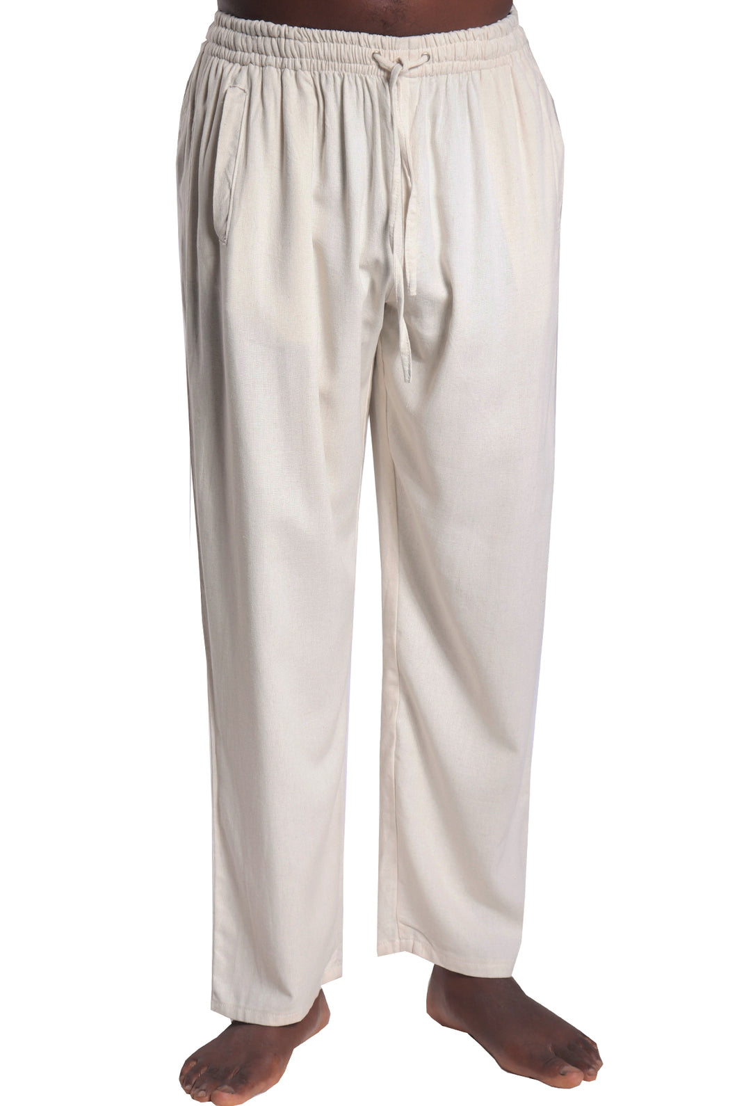 Piha Long Pants/Linen Rayon Natural