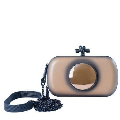 Palazzo Calf Sphere Knot Clutch