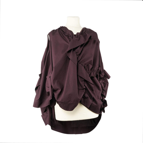 Marni Asymetric Ruffled Top