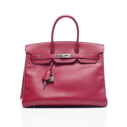 Hermes Birkin 35 Epsom Leather Handbag