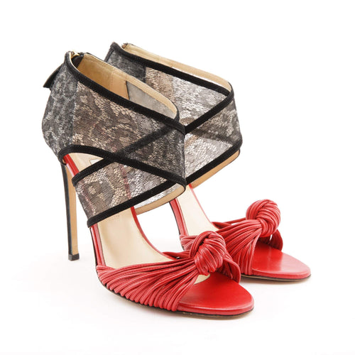 Bionda Castana Gabriella Red Sandals