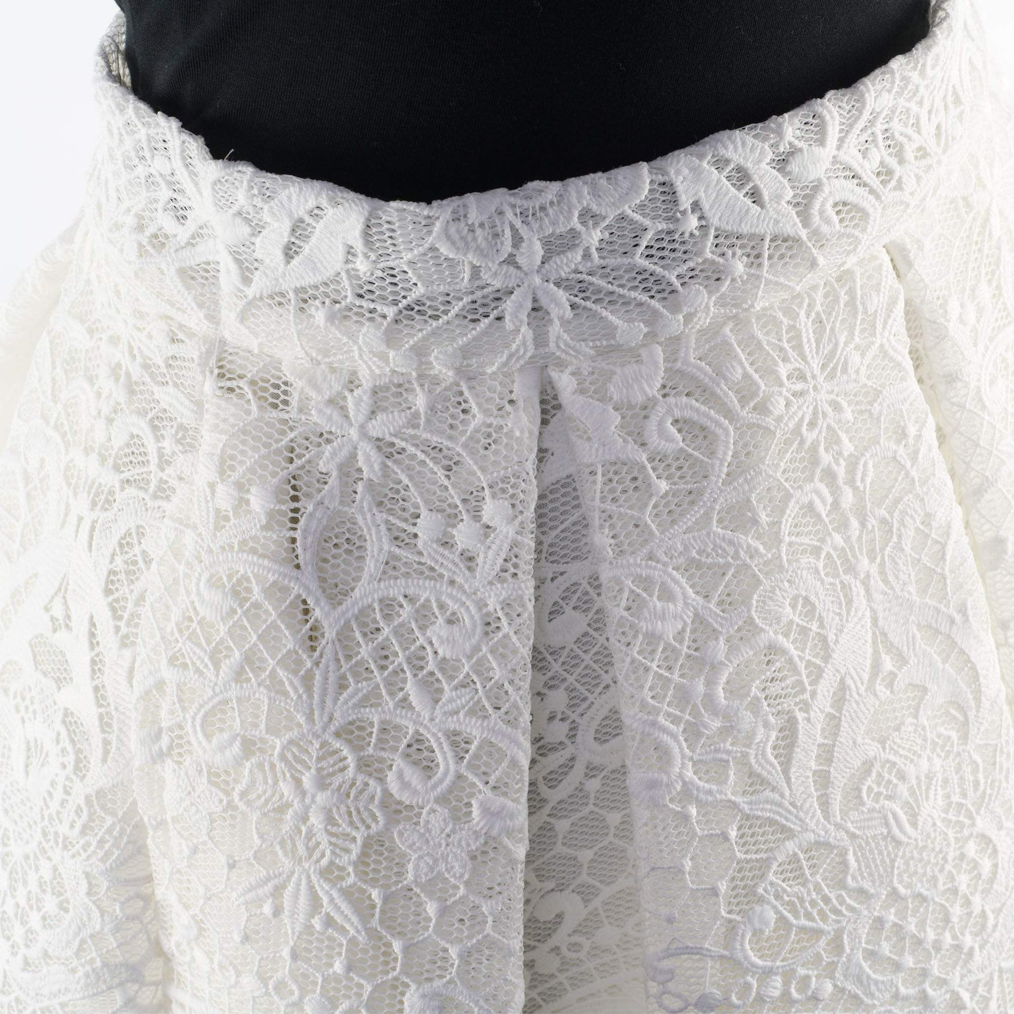 Maje Jeko Pleated Lace Skirt