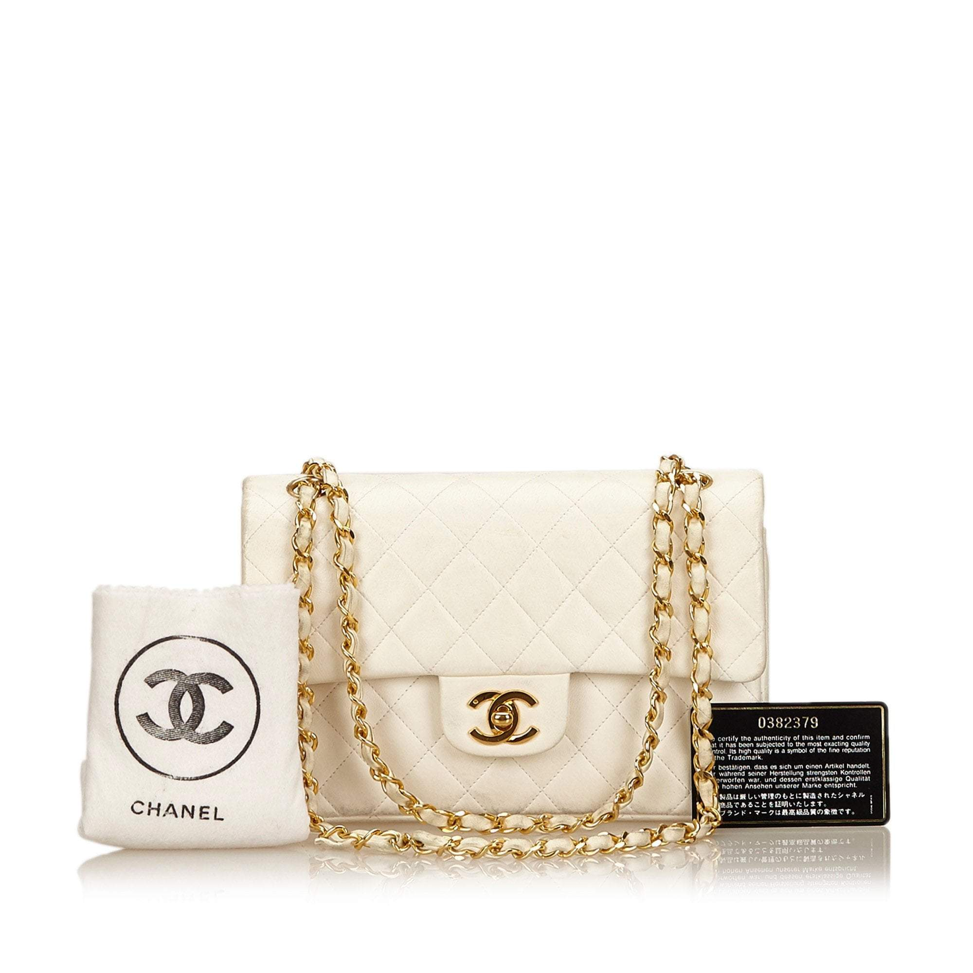 Vintage Chanel Small Lambskin Classic Flap