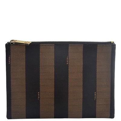 Pequin Striped Pouch