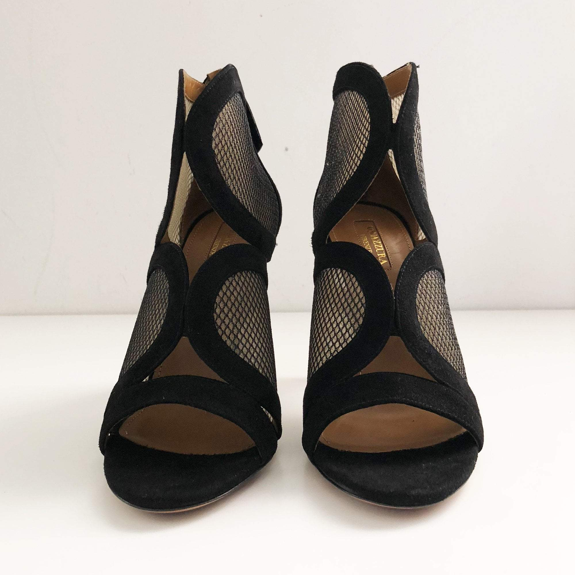 Aquazzura Black Flash Ankle Bootie