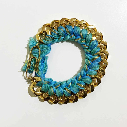 Aurélie Bidermann Do Brazil Crocheted Chain Link Bracelet