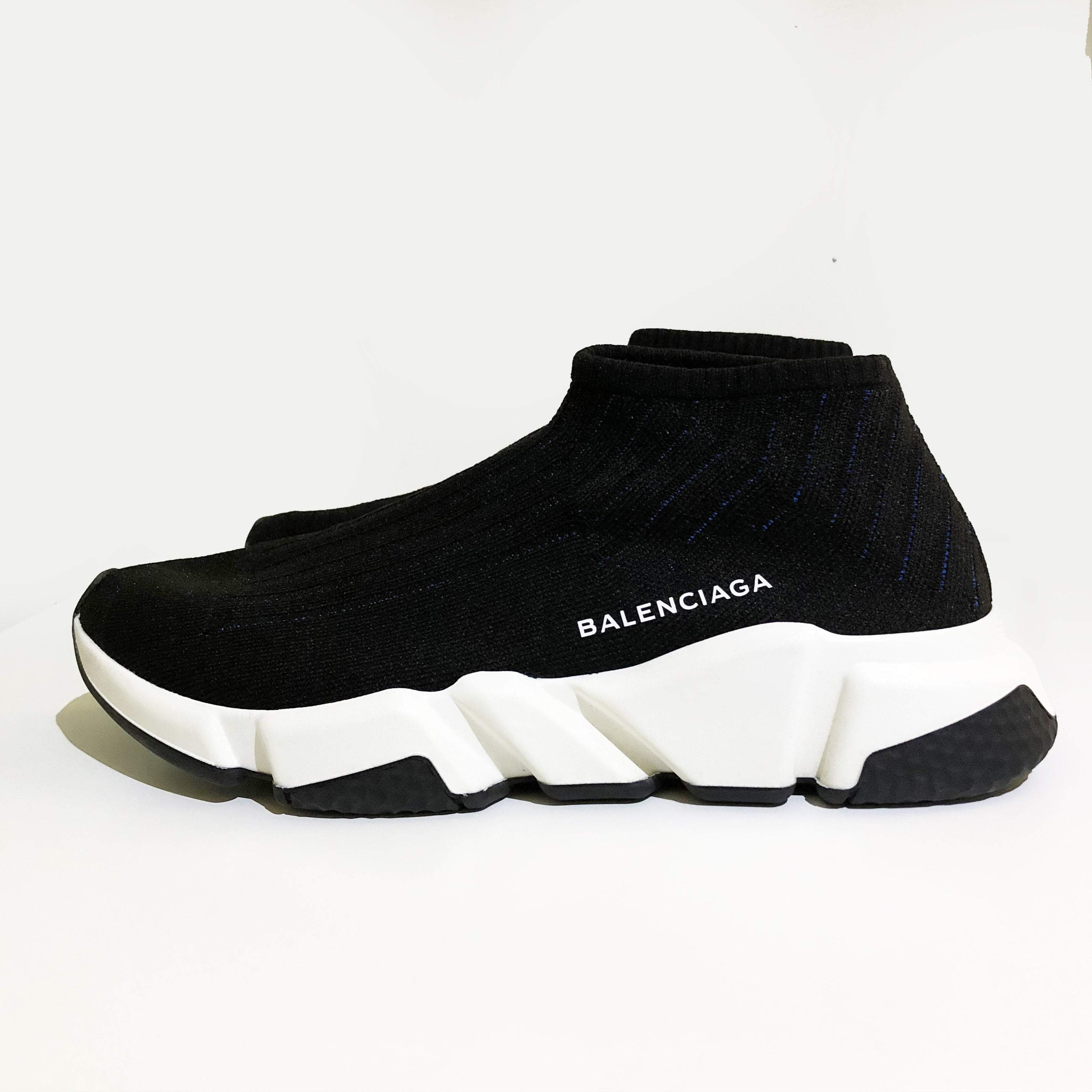 Balenciaga Speed Low-top Stretch-knit Sneakers
