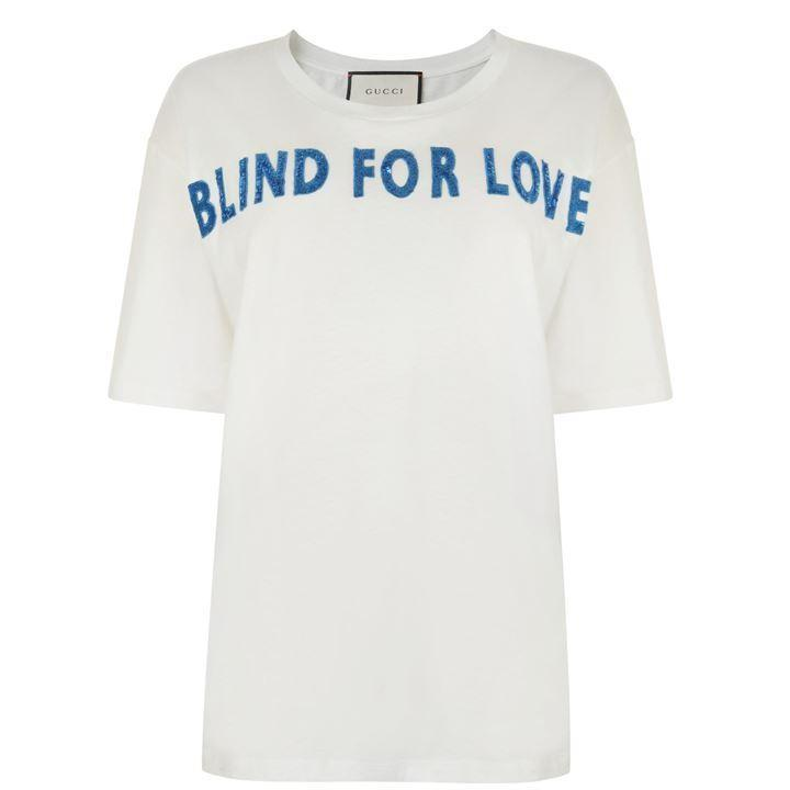 Gucci 'Blind For Love'' White T-shirt
