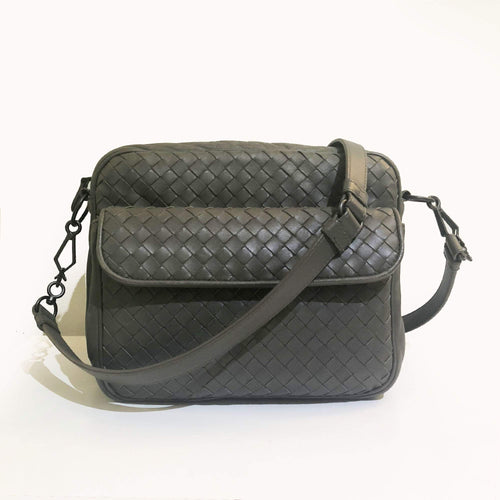 Bottega Veneta Grey Crossbody Bag
